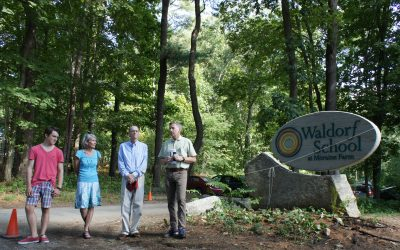 The Waldorf School at Moraine Farm Is Set in Stone